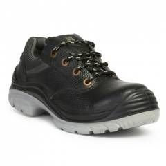 Hillson Nucleus Steel Toe Black Safety Shoes
