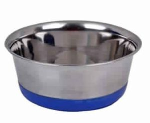 Silent Diner Bowls with Rubber Rim