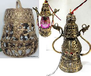 Brass Dhokra Lanterns