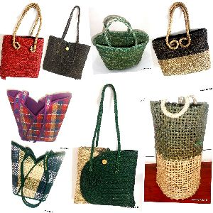 Sabai Grass Bags And Basket