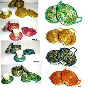 Sabai Grass Trays and Coasters