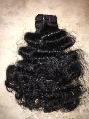 Virgin Single Drawn Natural Curly Hair 01