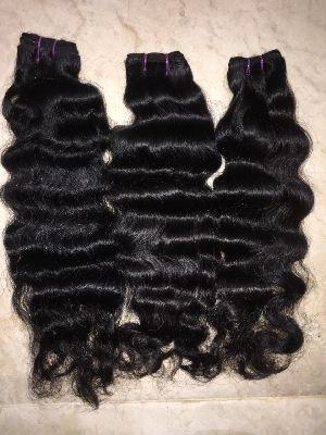 Virgin Single Drawn Natural Curly Hair 04