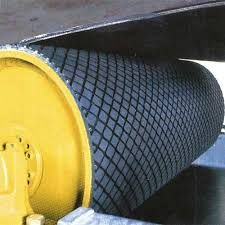 Rubber Lagging Conveyor Pulley