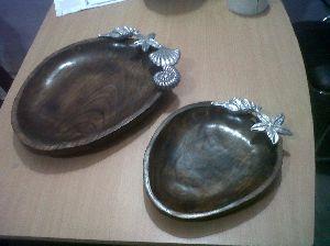 Designer Wooden Tray 01