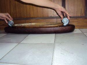 Designer Wooden Tray 09