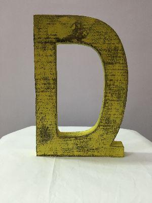 Wooden Alphabet Letters 12