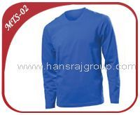 Men's LONG SLEEVE T- Shirt