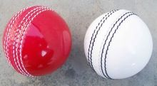 White Cricket Ball Leather