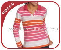Womens POLO STRIPE