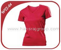 Womens T Shirt V-NECK