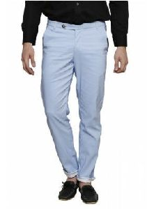 Mens Casual Cotton Trouser