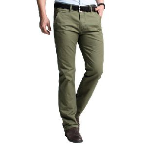 Mens Comfort Fit Cotton Trouser