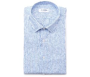 Mens Striped Linen Shirts