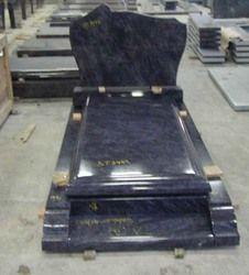 Black Marble Bed