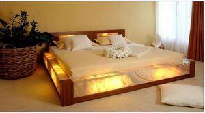 Designer Marble Bed