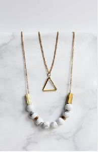 Designer Marble Necklace
