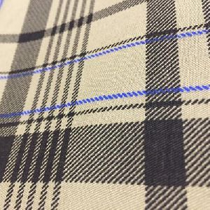 Checkered Woven Fabric
