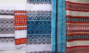 Embroidered Woven Fabric
