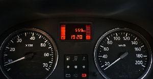Nissan Terrando Odometer