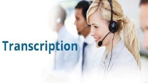 English Transcription Services