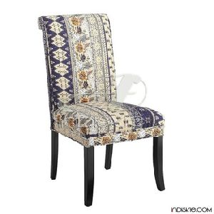 Vintage Kantha Work Handmade Dining Chairs