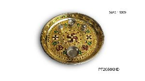 Decorative Pooja Thali 04