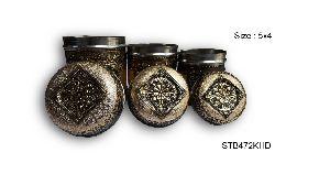 Decorative Steel Tea Box 03