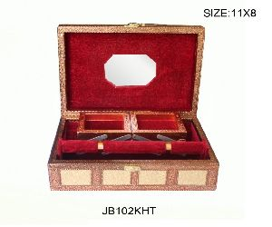 Flower Rexine Jewellery Box 02