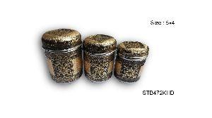 Decorative Steel Tea Box 02