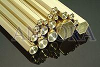Brass Square Hexagon Rods