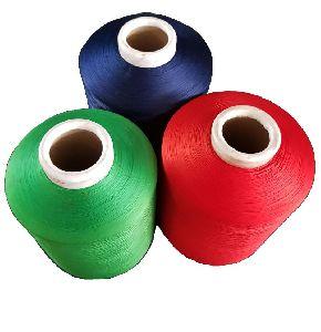 Polyester Litchi Yarn