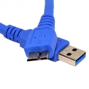 Micro B SuperSpeed Cable - Blue