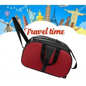 Polyester Travel Duffle Luggage Bag