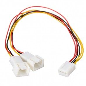 Y-Splitter Power Connector Adapter Cable