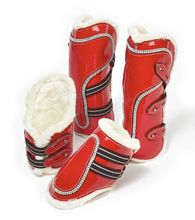 Horse Crystal Tendon Boot Set