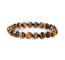 Tiger Eye Gemstone Beads Bracelet