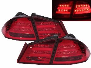 Honda Civic bmw look led tail light smoke (Premium Car Accessories - DealKarDe)