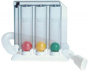 Lung Exerciser - 3 Ball Spirometer