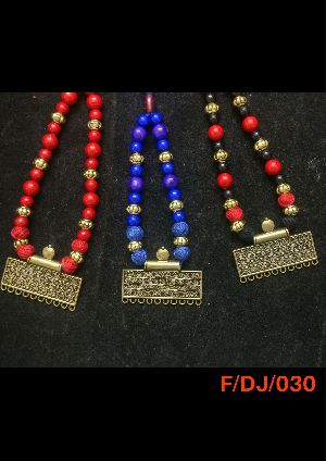 Dokra Necklace Set 01