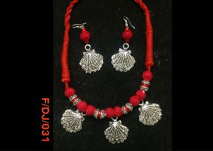 Dokra Necklace Set 02