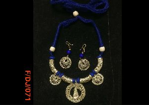 Dokra Necklace Set 08
