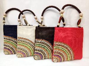 Embroidered Handbag 01