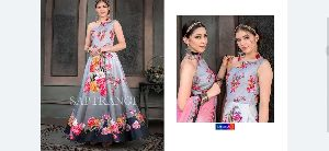 Ladies Designer Gown 09