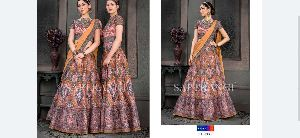 Ladies Designer Gown 21