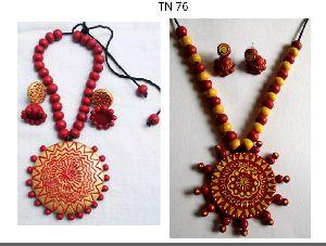 Terracotta Necklace Set 04