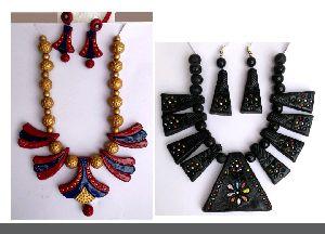 Terracotta Necklace Set 06