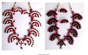 Terracotta Necklace Set 09