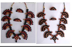 Terracotta Necklace Set 11