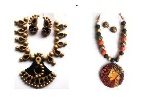 Terracotta Necklace Set 12